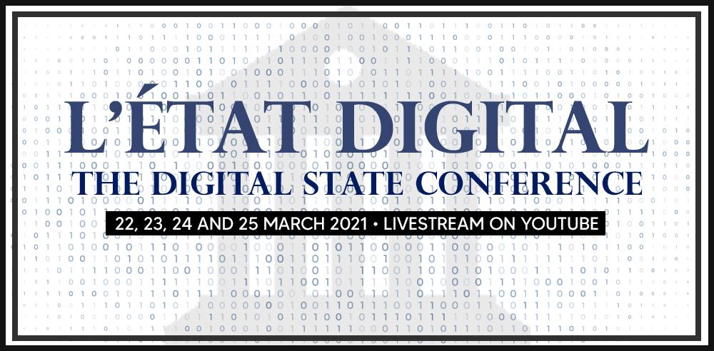 Digital State Conference | Conférénce L'État Digital